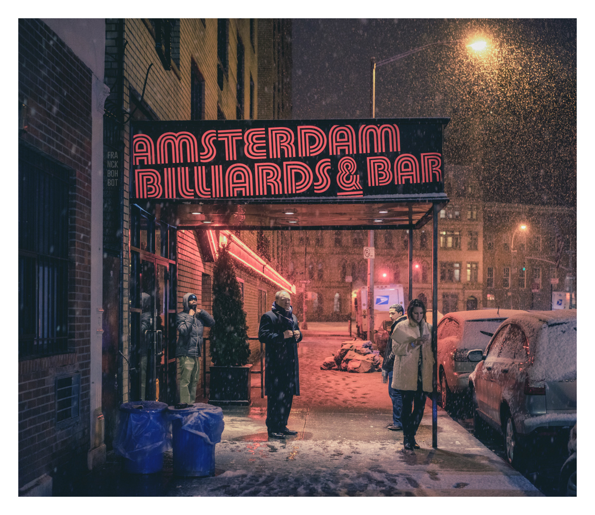 Amsterdam Billards & Bar, Strangers on 11th Street, Manhattan, NY, 2015