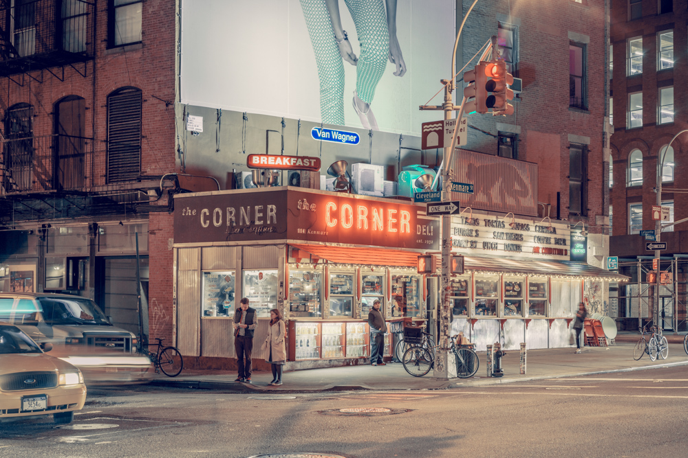 The Corner, New York, NY, 2014